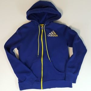 Adidas Women's Hoodie Sweatshirt Sz Medium Purple